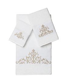 Scarlet 3-Pc. Embellished Towel Set