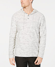 Alfani Men's Henley Hoodie, Created for Macy's