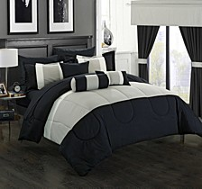 Mackenzie 20-Pc King Comforter Set