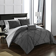Jacky 4-Pc Full/Queen Comforter Set
