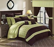 Lorde 24-Pc Queen Comforter Set