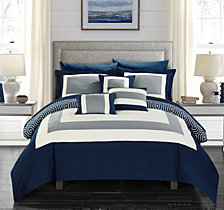 Chic Home Jake 10-Pc. Comforter Sets