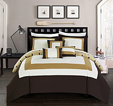 Chic Home Jake 10-Pc Queen Comforter Set