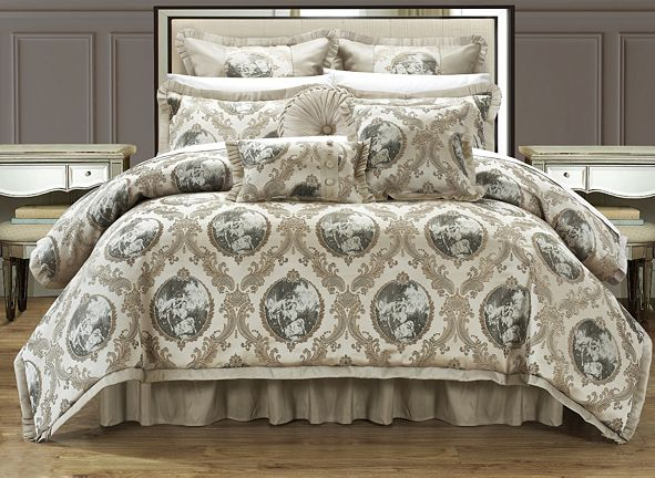 Chic Home Romeo & Juliet 9-Pc King Comforter Set