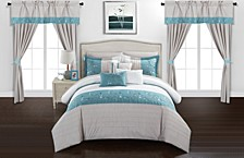 Sonita 20-Pc Queen Comforter Set