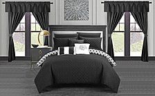 Chic Home Sigal 20-Pc Queen Comforter Set
