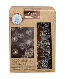 Studio Mercantile LED Micro Balls Wired 10ft String Lights