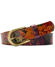 Patricia Nash Printed Vietri Belt