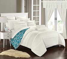 Chic Home Adina 20-Pc Queen Comforter Set