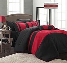 Fiesta New 10-Pc King Comforter Set