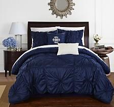 Chic Home Halpert 6-Pc Queen Comforter Set