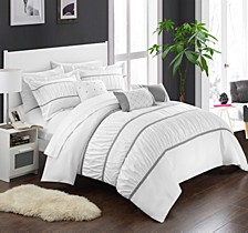 Cheryl 10-Pc Queen Comforter Set