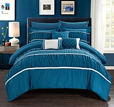Cheryl 10-Pc Queen Comforter Set