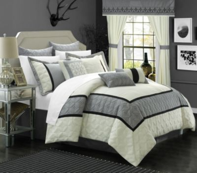 Aida 24-Pc Queen Comforter Set