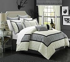 Chic Home Aida 24-Pc Queen Comforter Set