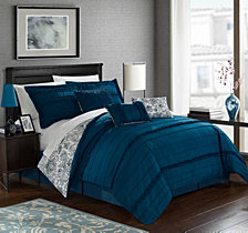Chic Home Elle 7-Pc Queen Comforter Set