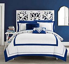 Chic Home Beckham 9-Pc Full Comforter Set