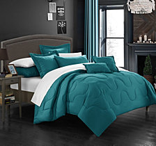 Chic Home Donna 7-Pc Queen Comforter Set