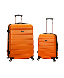 "Rockland 20"", 28"" 2-Piece Expandable Abs Spinner Set"