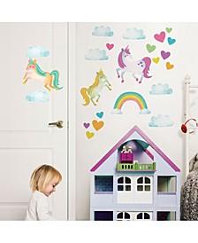 One Love Unicorns Wall Art Kit