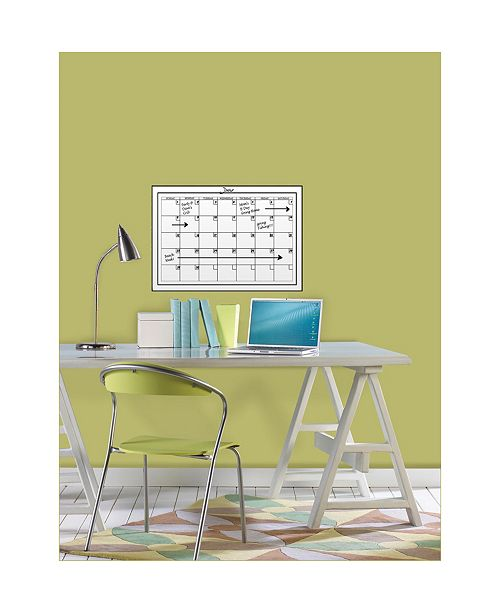 Brewster Home Fashions Medium White Monthly Calendar Set Of 2