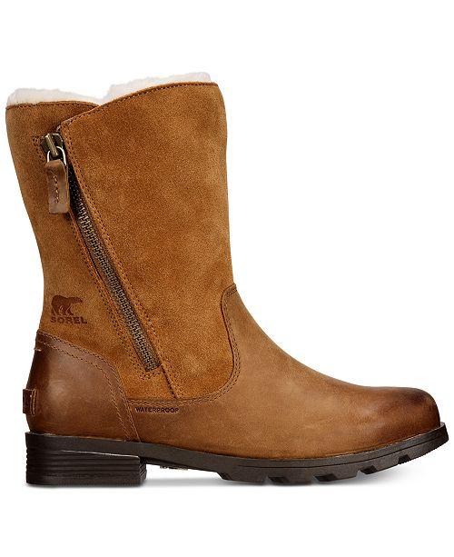 e12b6c40c82c Sorel Women s Emelie Foldover Waterproof Booties   Reviews - Boots ...