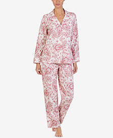 Lauren Ralph Lauren Petite Cotton Pajama Set