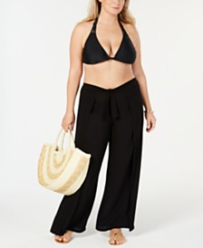 Becca ETC Plus Size Layered Cover-Up Pants