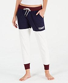 Tommy Hilfiger Colorblock Logo Jogger Pajama Pants R65S077