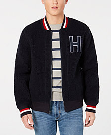 Tommy Hilfiger Men's Crowly Fleece Bomber Jacket
