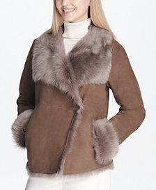 Calvin Klein Shearling Jacket