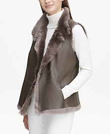 Shearling Reversible Vest
