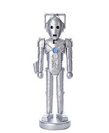 Kurt Adler 10.25 Inch Doctor Who Cyberman Nutcracker