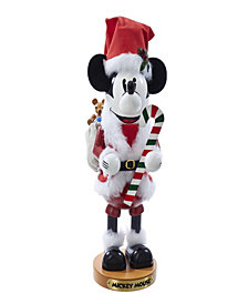 Kurt Adler Steinbach 14 Inch Mickey Mouse Santa Nutcracker