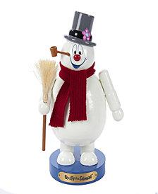 Kurt Adler 10 Inch Wooden Frosty the Snowman Nutcracker