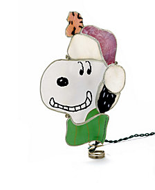 Kurt Adler 9-Inch Snoopy Lighted Treetop