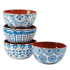 Certified International Porto 4-Pc. Ice Cream Bowl