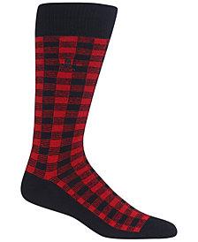 Polo Ralph Lauren Men's Buffalo Plaid Socks