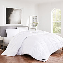 Regency Sateen 300 Thread Count Cotton Allergen Barrier  Down Alternative Comforter - King