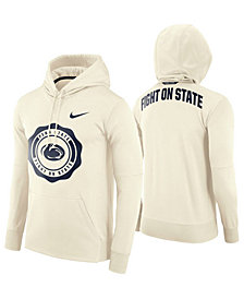 Nike Men's Penn State Nittany Lions Rivalry Therma Hooded Sweatshirt