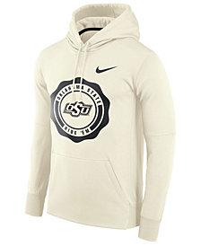 Nike Men's Oklahoma State Cowboys Rivalry Therma Hooded Sweatshirt