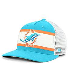 '47 Brand Miami Dolphins Team Stripe MVP Cap