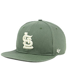'47 Brand St. Louis Cardinals Moss Snapback Cap