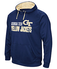 Colosseum Men's Georgia-Tech Stack Performance Hoodie