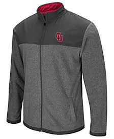 Colosseum Men's Oklahoma Sooners Full-Zip Fleece Jacket