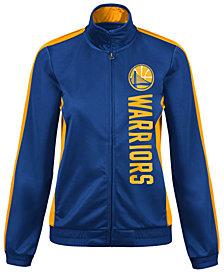 G-III Sports Women's Golden State Warriors Backfield Track Jacket