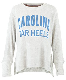 Pressbox Women's North Carolina Tar Heels Cuddle Knit Sweatshirt