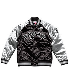 Mitchell & Ness Men's San Antonio Spurs Tough Season Satin Jacket