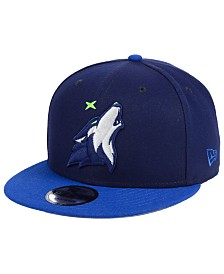 New Era Minnesota Timberwolves Basic 2 Tone 9FIFTY Snapback Cap