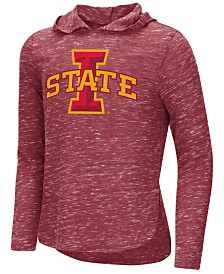 Colosseum Iowa State Cyclones Hooded Long Sleeve T-Shirt, Girls (4-16)